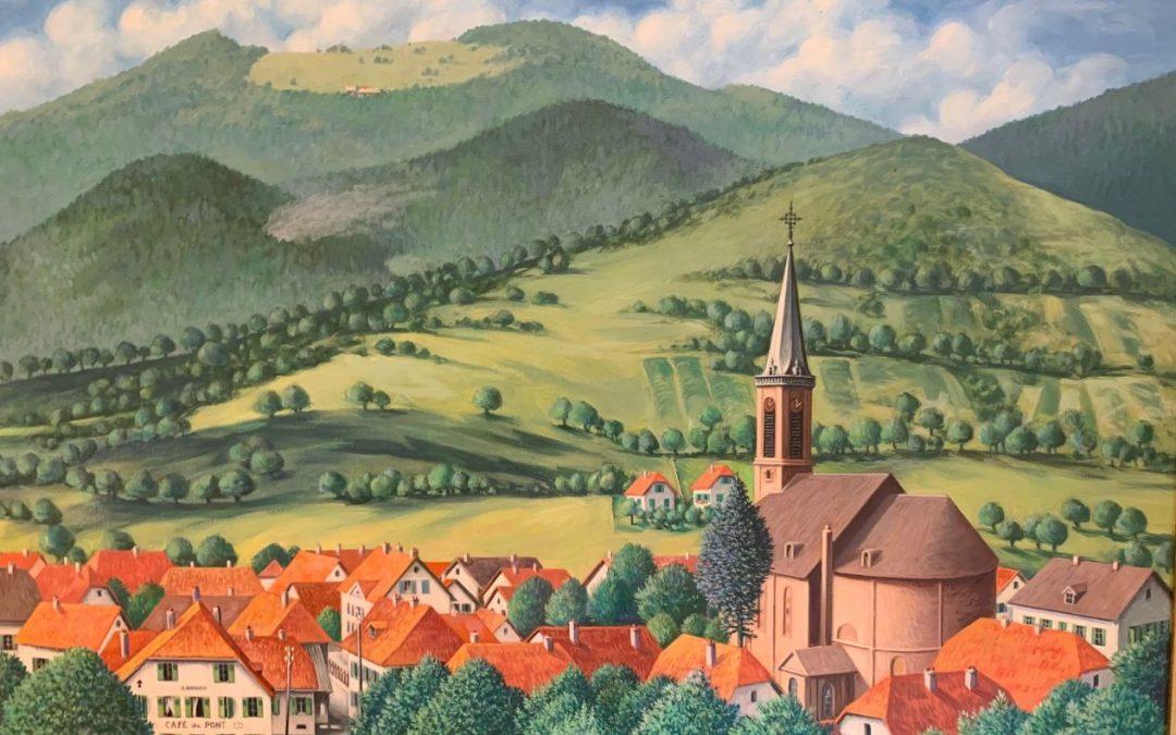 Hommage à René Münch, Artiste-Peintre bitschwillerois