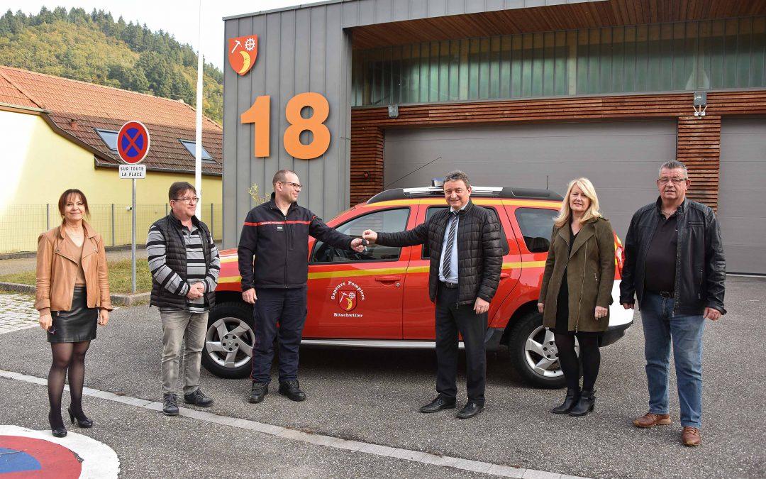 Un nouveau véhicule pour les sapeurs-pompiers